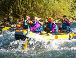 Rafting sur le gave d'Oloron en Béarn Pyrénées