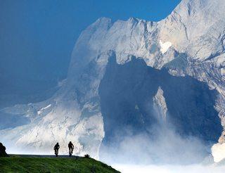 Col de l'Aubisque en vallée d'Ossau en Béarn Pyrénées