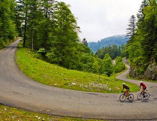 Col de Marie Blanque en Aspe et Ossau en Béarn Pyrénées