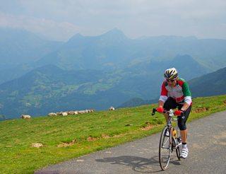 Col du Soulor entre Béarn et Bigorre dans les Pyrénées