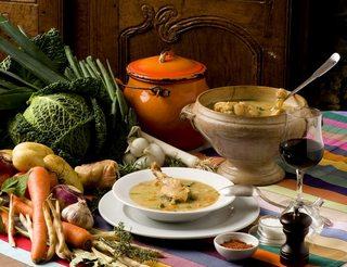 Gastronomie, garbure en Béarn Pyrénées