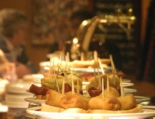 Gastronomie, tapas en Aragon dans les Pyrénées