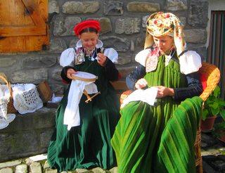 Journée traditionnelle du costume à Anso en Aragon