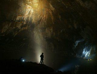 Grottes de la Verna entre Béarn et Pays basque dans les Pyrénées