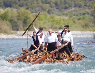 Descente en radeaux à Hecho en Aragon