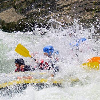 Rafting à Murillo de Gallego, Pyrénées Aragon (Espagne)