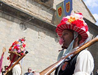 Fête du 1er vendredi de mai à Jaca en Aragon