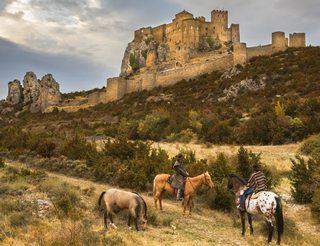 Château Abbaye de Loarre en Aragon