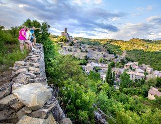 Ville médiévale de Monatana en Aragon