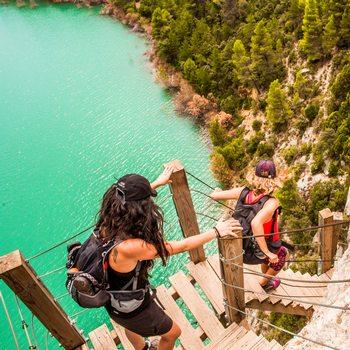 Gorges de Mont Rebei en Aragon