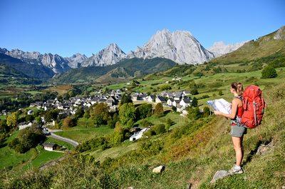 Village de Lescun en Béarn Pyrénées