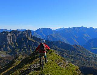 VTT en Aspe dans le Béarn Pyrénées