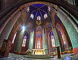 Cathédrale d'Oloron-Ste-Marie en Béarn Pyrénées