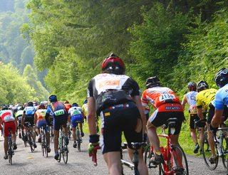 Course cycliste la Quebrantahuesos en Aragon