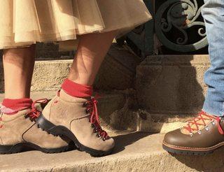 Chaussures de randonnée du Soulor en Béarn Pyrénées